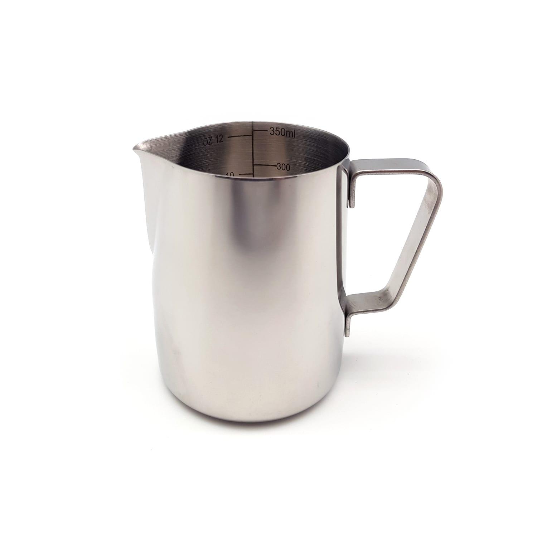 stainless steel milk jug 350ml coffee stuff. Black Bedroom Furniture Sets. Home Design Ideas