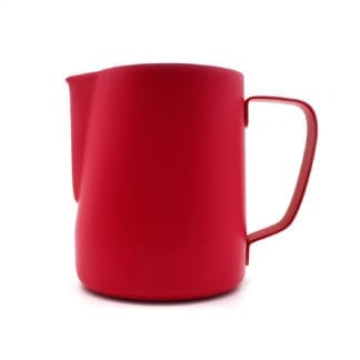 barista milk jug red 600ml