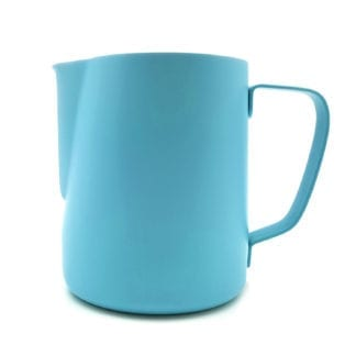 900ml baristas milk jug blue