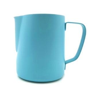 900ml baristas milk jug blue