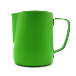 barista milk jug green 900ml